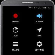 BASEline app home screen