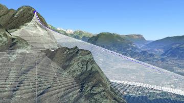 Google earth flight profile